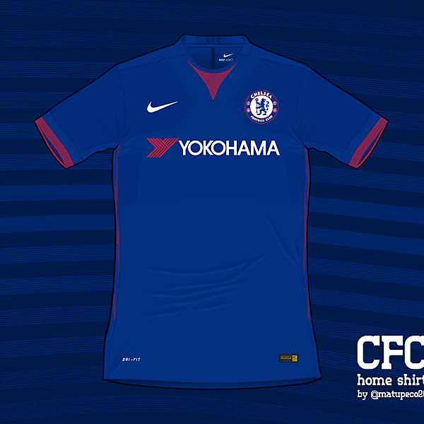 Chelsea FC home shirt by Nike
