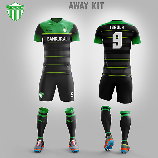 Antigua GFC // AWAY KIT