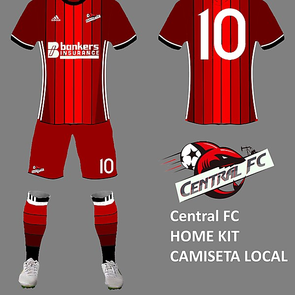CENTRAL FC home kit