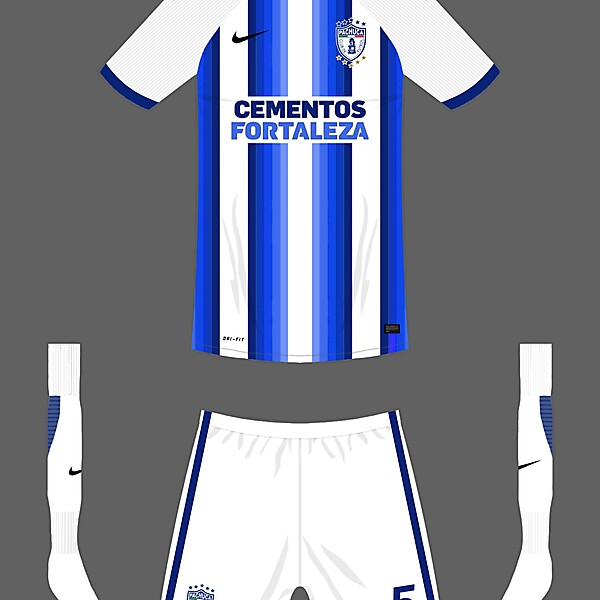 CF Pachuca home kit