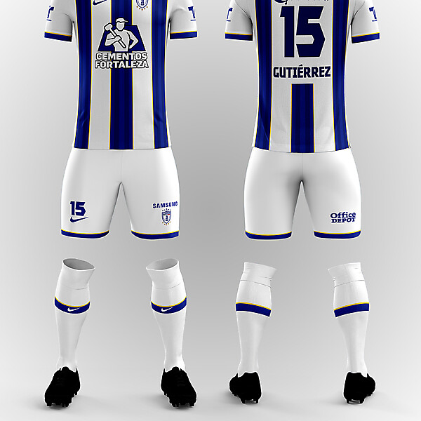 C.F. Pachuca Home Kit