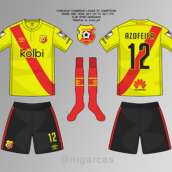 CS Herediano - Home kit