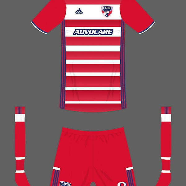 FC Dallas home kit