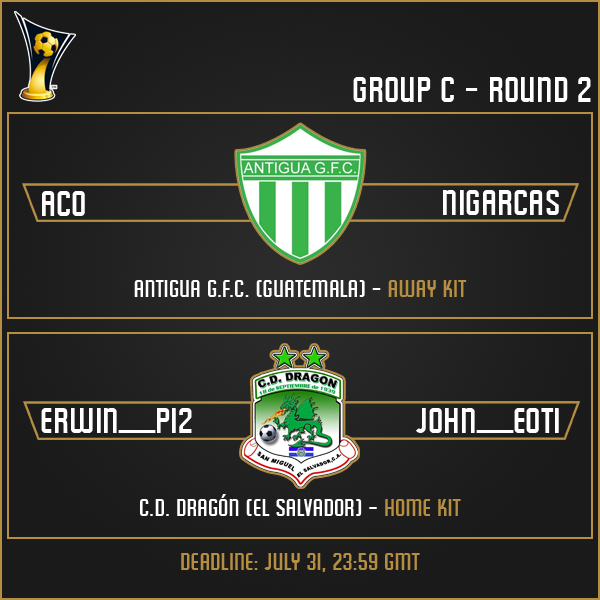 Group C - Week 2 Matches