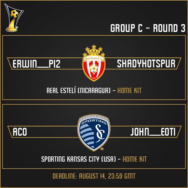 Group C - Week 3 Matches