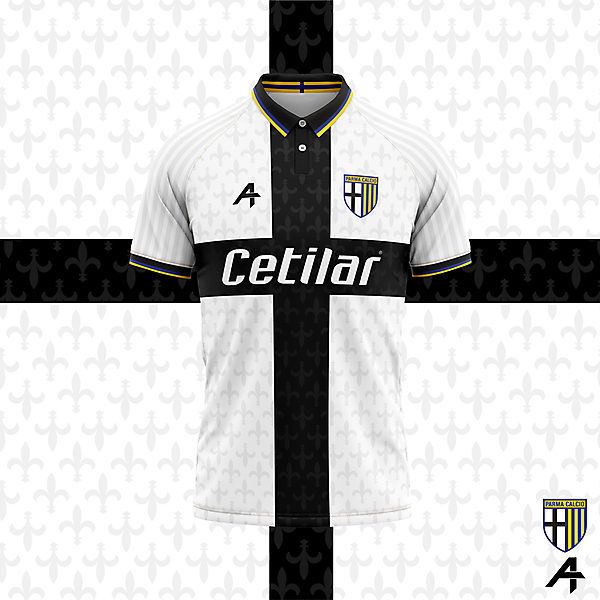 Parma Calcio home kit concept