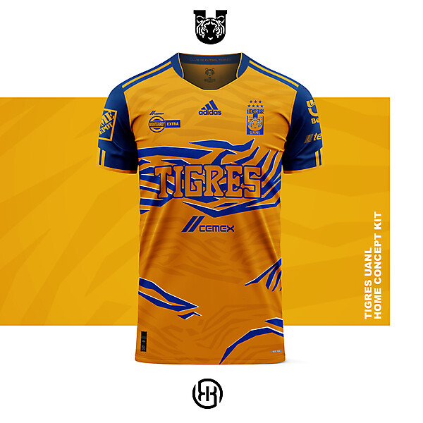 Tigres UANL | Home kit concept