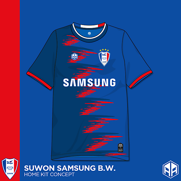 Suwon Samsung Blur Wings home kit concept