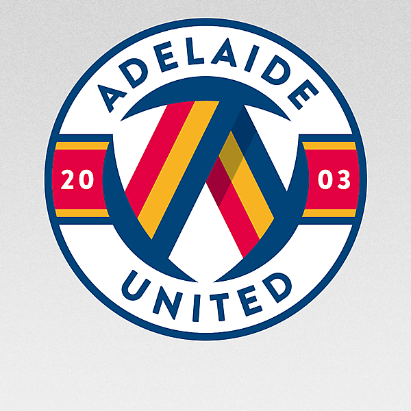 Adelaide United - A-League - Australia - redesign