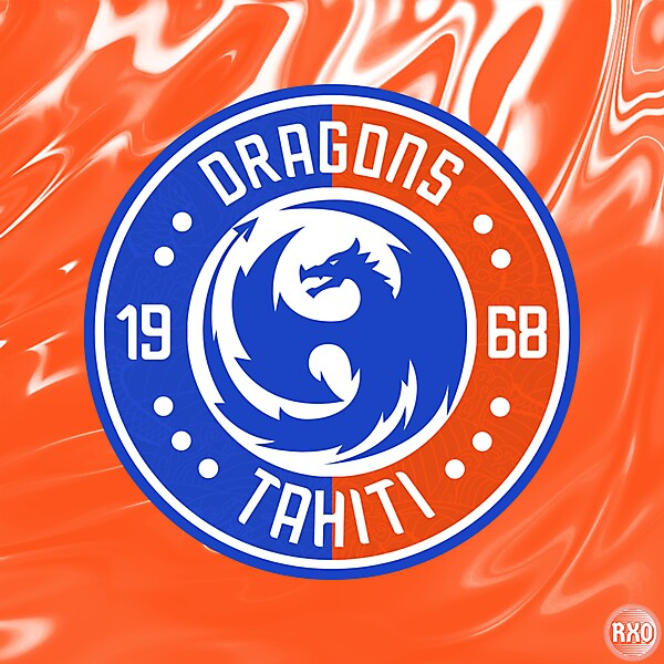 As Dragons Tahiti Crest Redesign