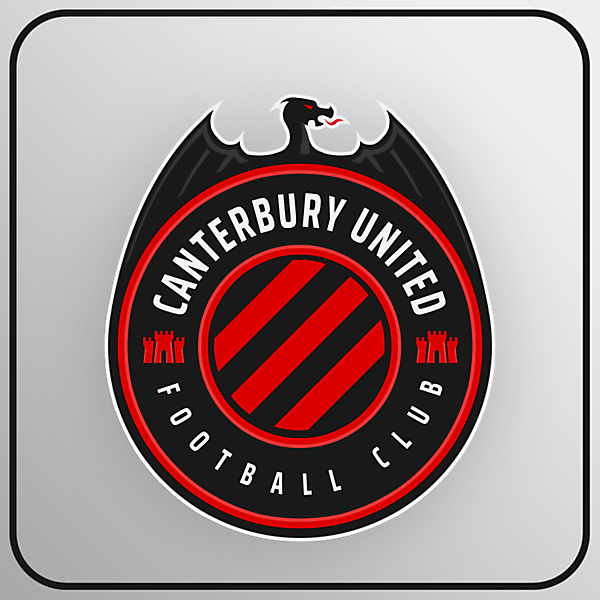 Canterbury United FC | Crest Redesign