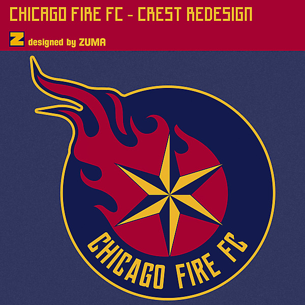 Chicago Fire FC | Crest Redesign