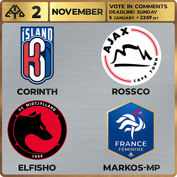CROTM 2 VOTING - NOVEMBER