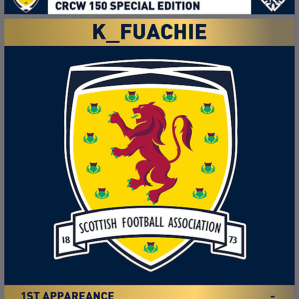 CRCW 150 SE | SCOTTISH F.A. | K_FUACHIE