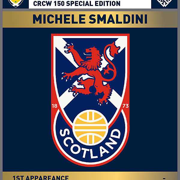 CRCW 150 SE | SCOTTISH F.A. | MICHELE SMALDINI