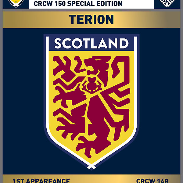 CRCW 150 SE | SCOTTISH F.A. | TERION