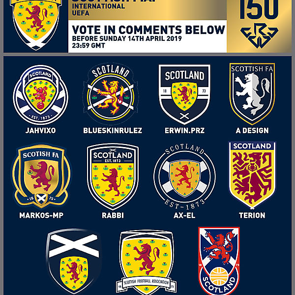 CRCW 150 SE | SCOTTISH F.A. | VOTING