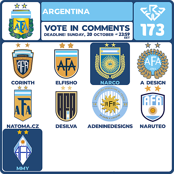 CRCW 173 VOTING - ARGENTINA