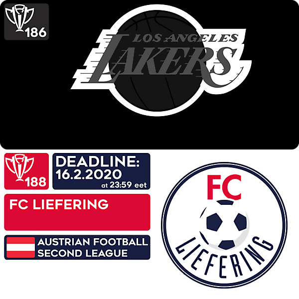 CRCW 186 HONORABLE EDITION - LOS ANGELES LAKERS  |  CRCW 188 - FC LIEFERING