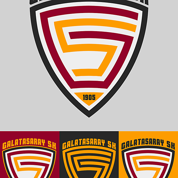 Galatasaray SK - Crest Redesign