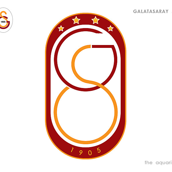 Galatasaray SK official new logo