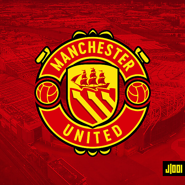 Manchester United - Crest Redesign