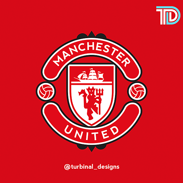 Manchester United Crest Redesign