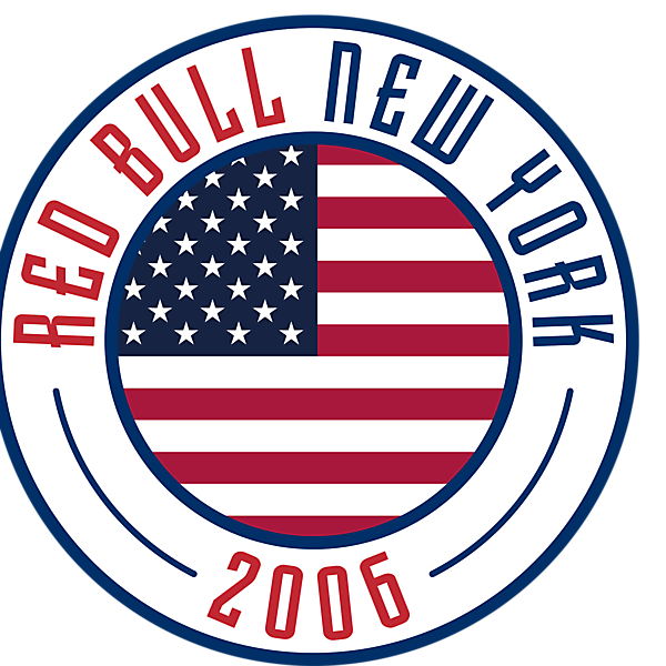 New York Red Bull Crest Re-Design