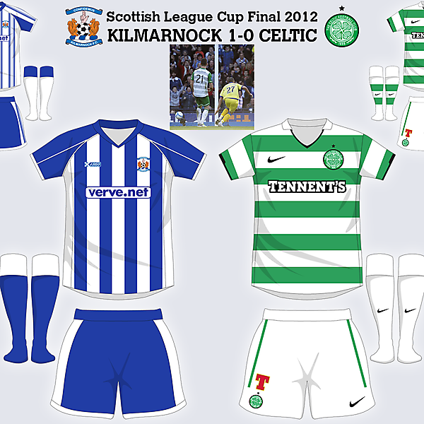 Scottish League Cup Final 2012