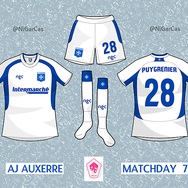 AJ Auxerre - [CL] - Matchday 7