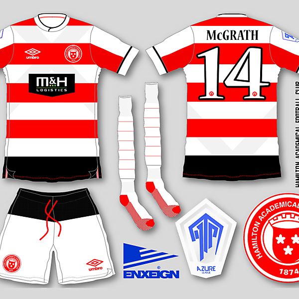 Hamilton Academical Home Kit