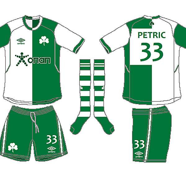 Panathinaikos FC Home Kit - Azure League Matchday 2