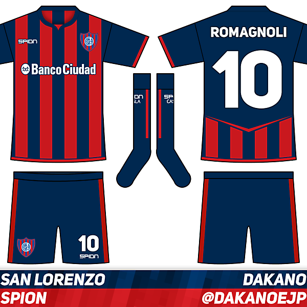 San Lorenzo Home - Crimson League Matchday 10