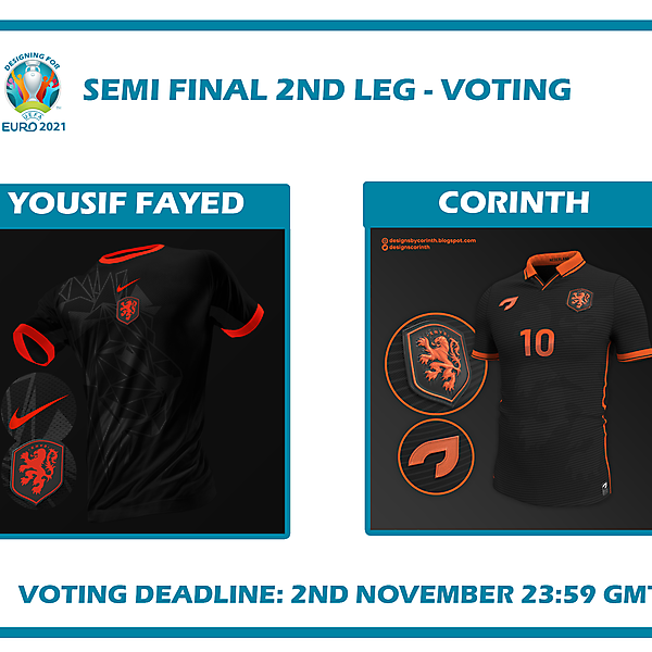 Semi Final Second Leg Voting