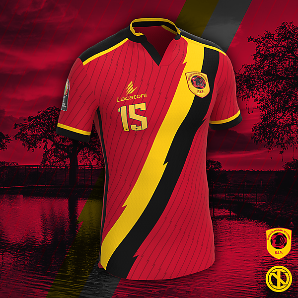 Angola | AFCON 2022 Home Kit Concept