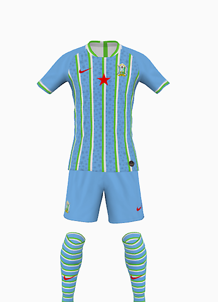 Djibouti Kit Design