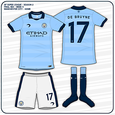 Manchester City - Home Kit