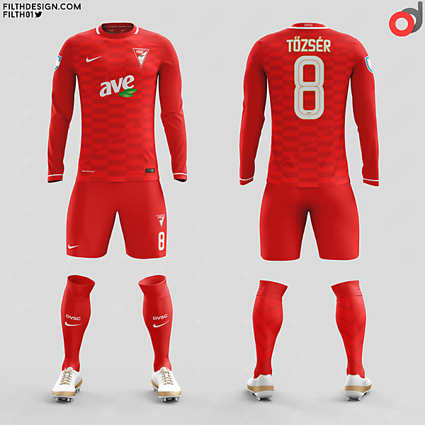 Debreceni VSC - Home Kit [ozand]