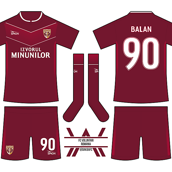 FC Voluntari Home - DFSL R1