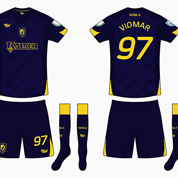 NK Radomlje Away Kit - DF Super League