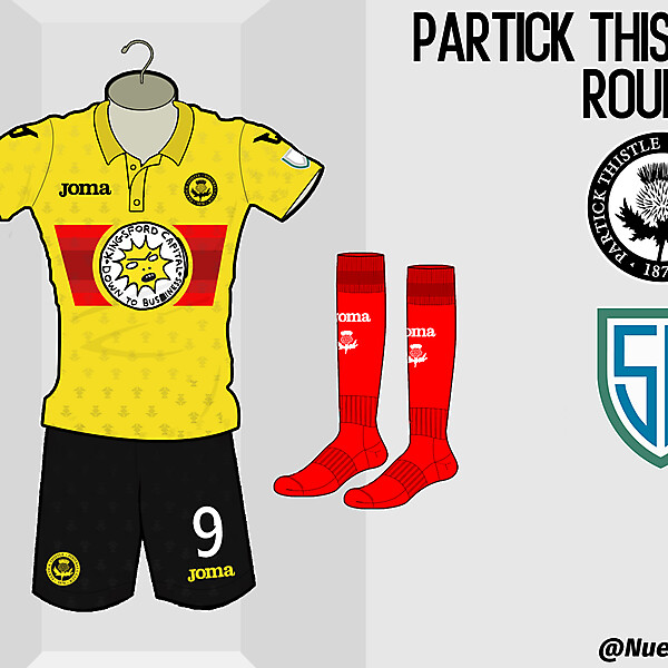 Partick Thistle Home Kit