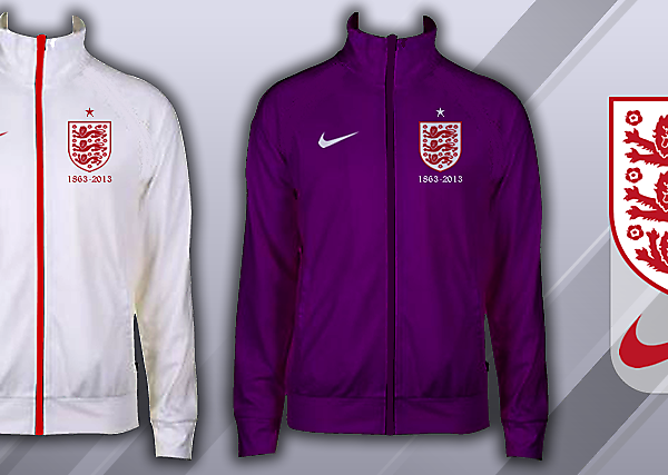 England 150th Anniversary Track Tops