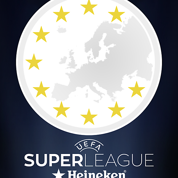 UEFA SuperLeague Main Logo
