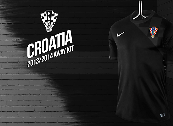 Croatia third kit