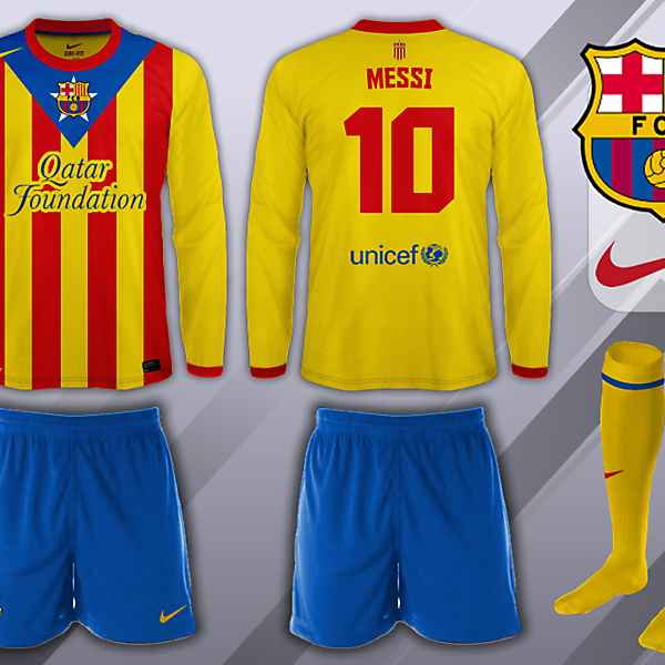 FC Barcelona Senyera (Catalan Flag) 2013-14 Away Kit Design Competition (closed)