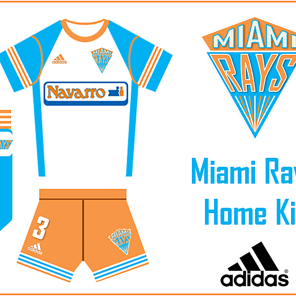 Miami Rays Home Kit