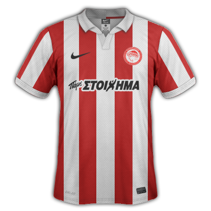 Olympiacos fantasy kits (I hate this team as much as possible)