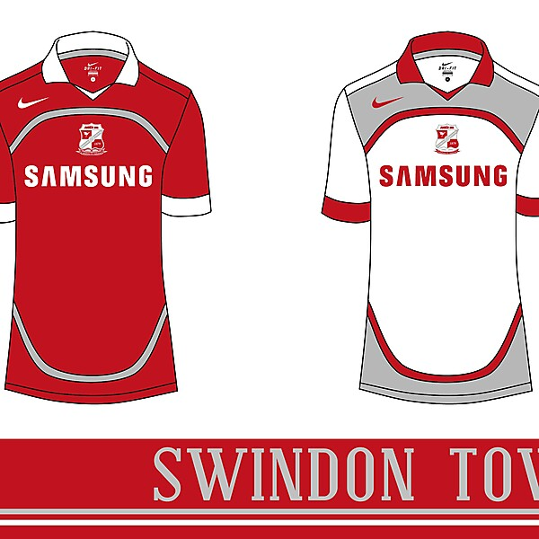 Swindon Town Nike Home & Away