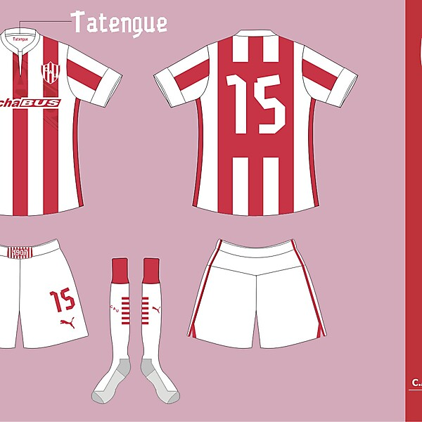 Union de Santa Fe Home kit ver 01