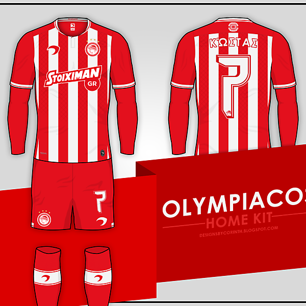 Olympiacos | Home Kit